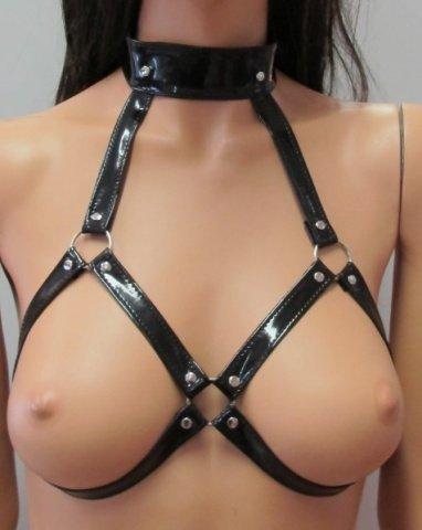 Секс в сбруи видео